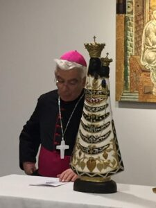 Giunta al Falcone Borsellino la statua della Madonna di Loreto