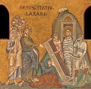 V Domenica di Quaresima A – Resurrezione di Lazzaro