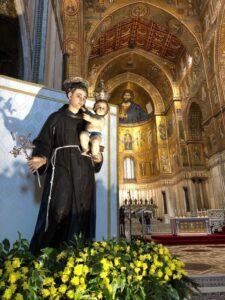 Sulle tracce di Sant'Antonio da Padova a Monreale